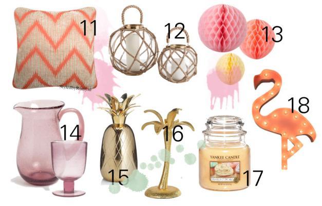 Interieur 18 x zomerse decoratie voor je tuin feestje of for Interieur decoratie online shop