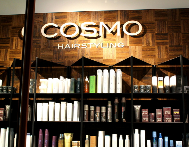 Review treatment bij cosmo hairstyling amsterdam zuidas for Interieur stylist amsterdam