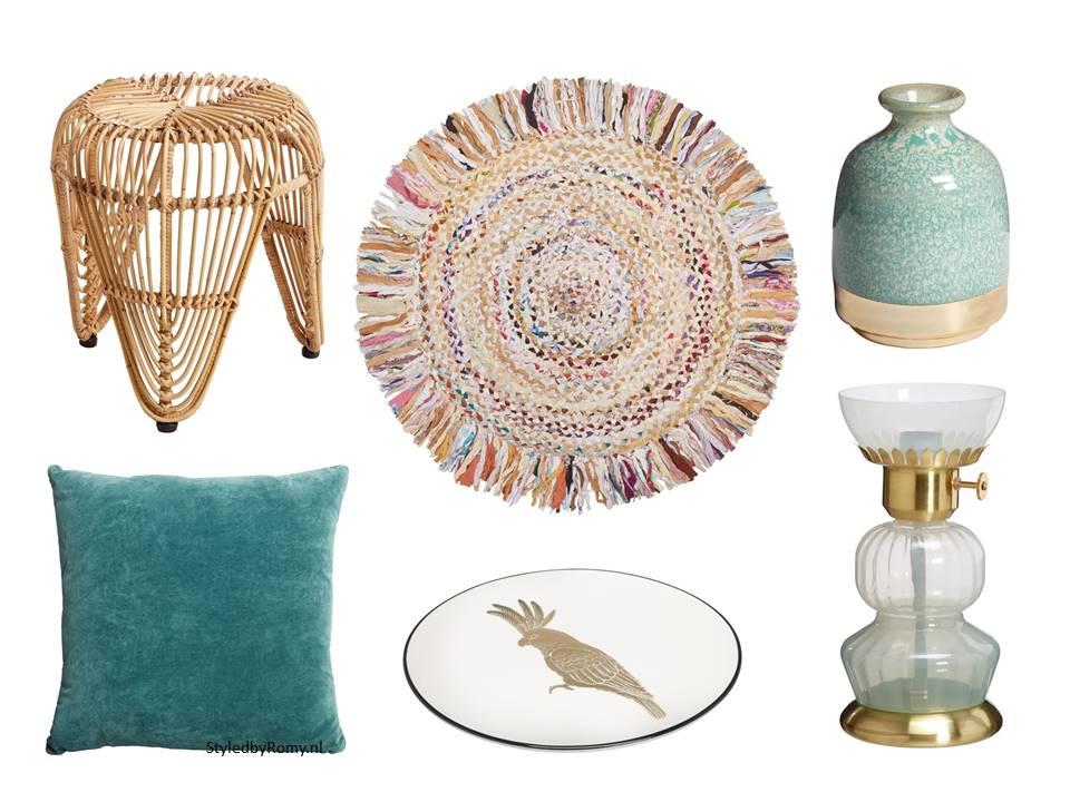 Je interieur klaar voor het voorjaar in 6 stappen for Interieur kleur