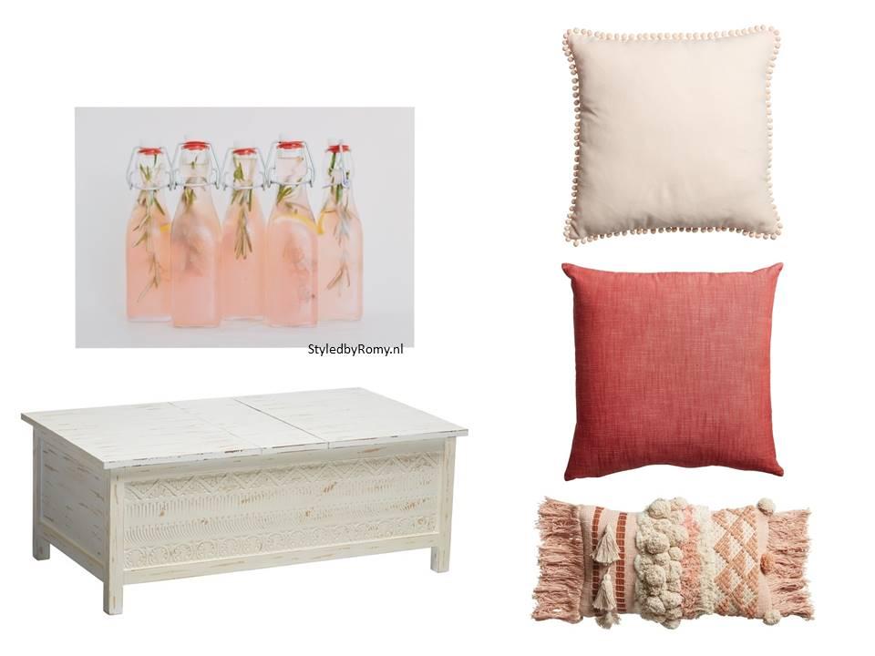 Je interieur klaar voor het voorjaar in 6 stappen for Interieur kleurencombinaties