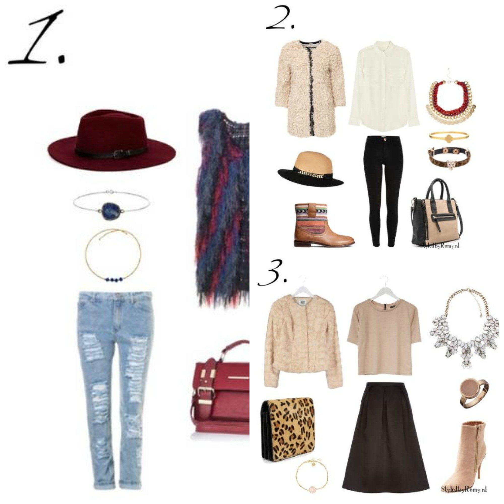 INSPIRATIEPOST: 3 X Ready to Wear Fall Outfits