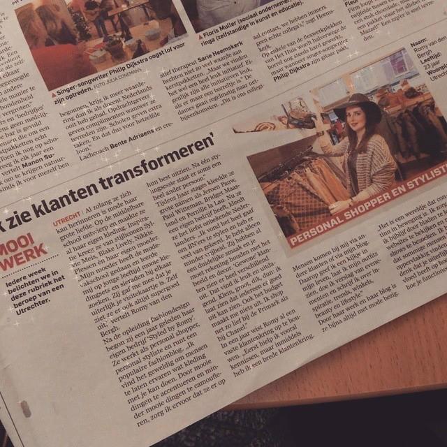 FEATURE: Styled by Romy in het Algemeen Dagblad