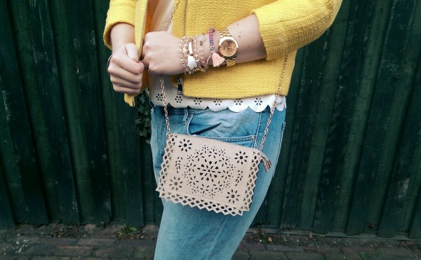 LOOK OF THE DAY: Yellow is the new Black