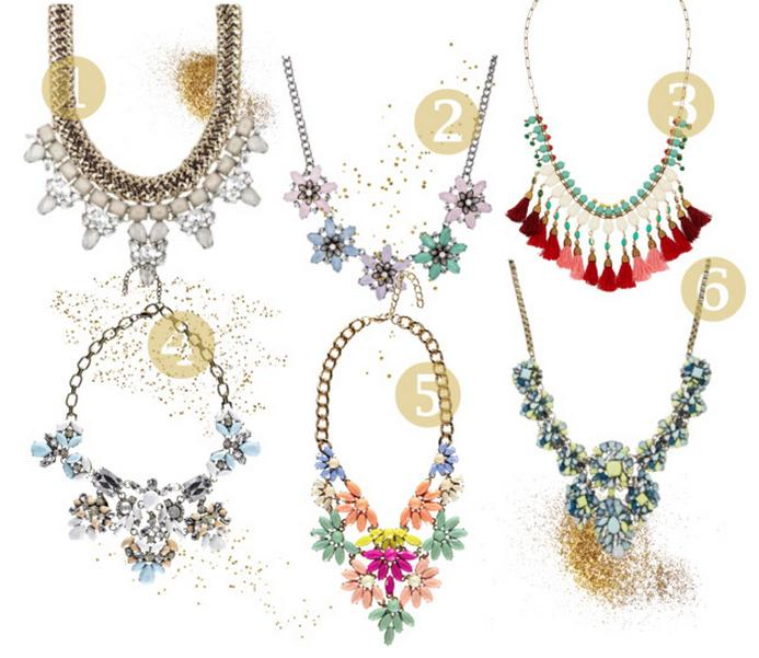 FAVORIETEN: Statement Necklace Shopping