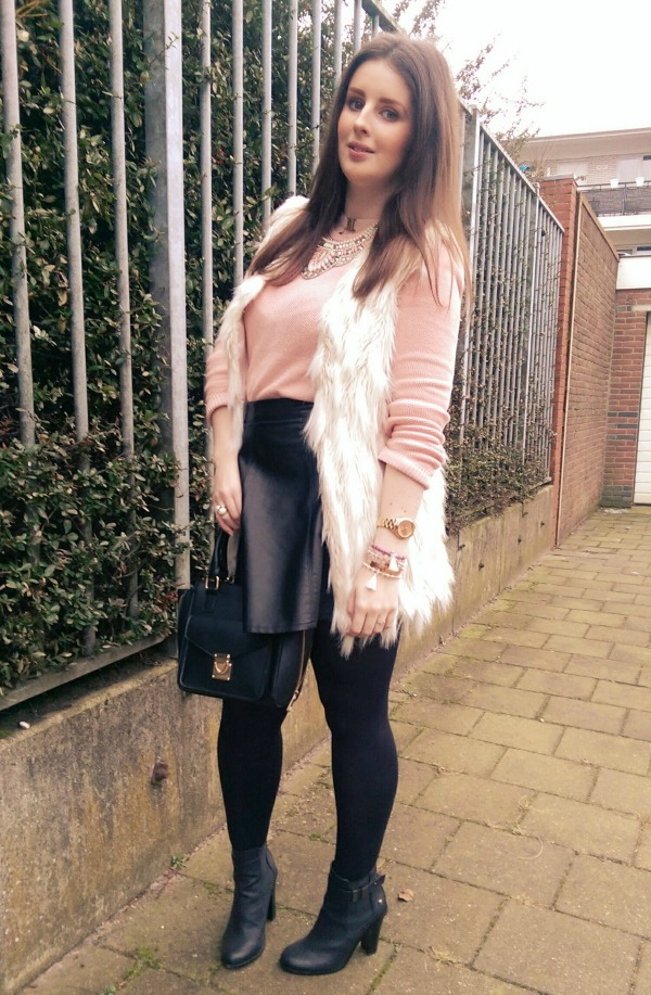 LOOK OF THE DAY: Shades of Pink