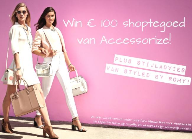 WINACTIE: Win € 100 shoptegoed bij Accessorize + Stylingadvies van mij!