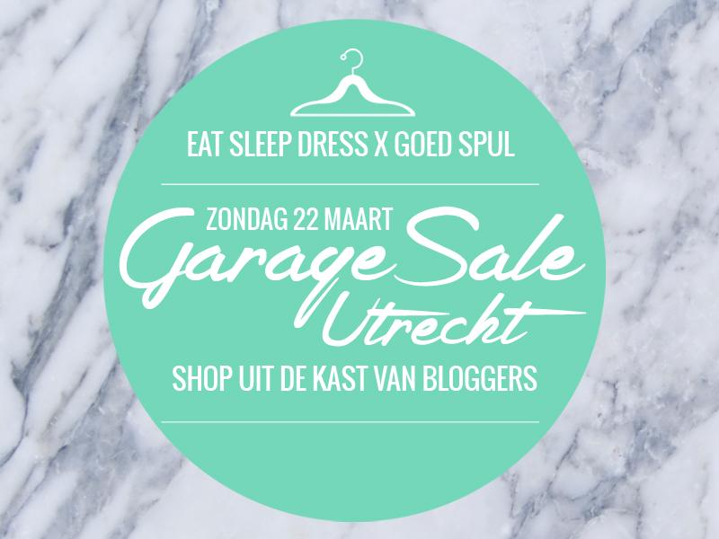 EVENT: Kom jij shoppen uit mijn Kast bij Garage Sale Utrecht?