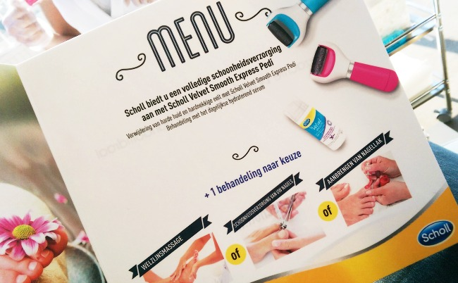 EVENT REPORT: Luxe pedicure bij de Scholl Pop-Up Bar