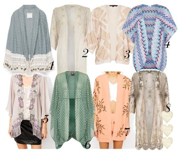 FAVORIETEN: 8 X Come On, Kimono!