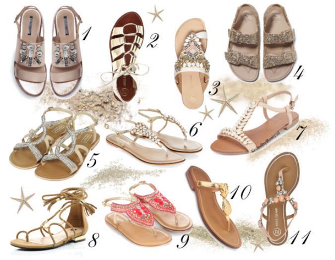 FAVORIETEN: 11 Mooiste sandaaltjes van dit moment