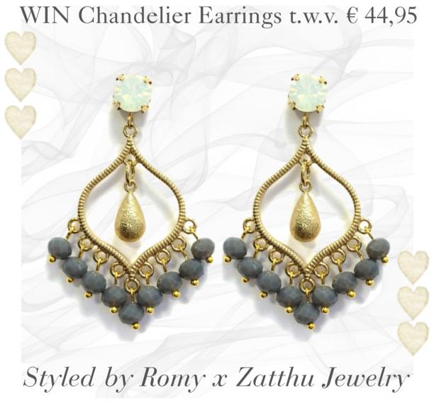 WINACTIE: Win Zatthu Jewelry oorbellen T.W.V. € 44,95!