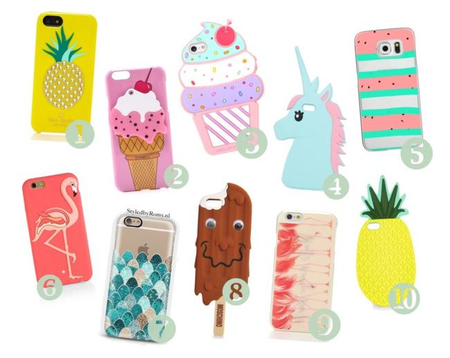 FAVORIETEN: 10 X Zomerse Phone Cases