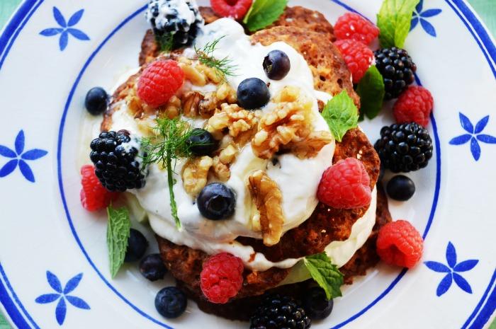 Recept dinsdag 9 juni 2015  Griekse yoghurt met kletskoppen en walnoten (1)