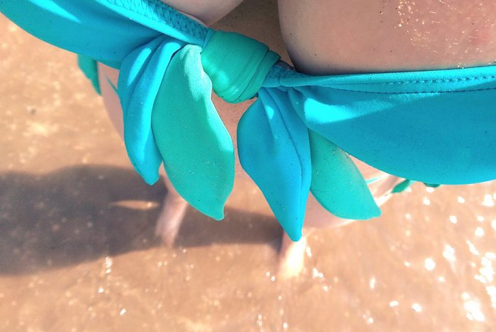 NEW IN: A day at the beach met Lagoen bikini