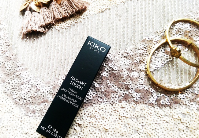REVIEW: Kiko radiant touch creamy stick Highlighter in #100 'Gold'