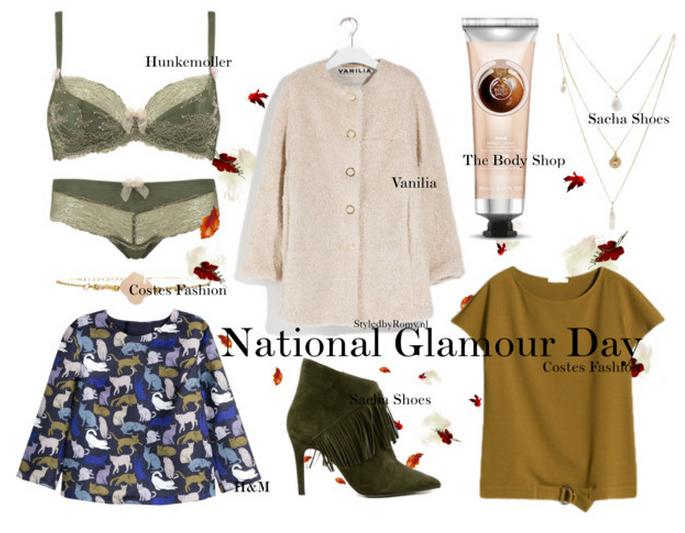 FAVORIETEN: National Glamour Day 10/2015