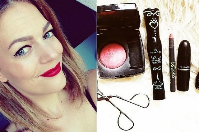 TUTORIAL: Snel en makkelijk een klassieke make-uplook met red lips