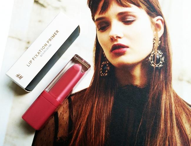 REVIEW: H&M Lip fixation primer & Essence liquid lipstick in #02 'Beauty Secret'