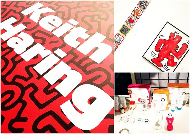 EVENT REPORT: Keith Haring x Clarisonic lancering