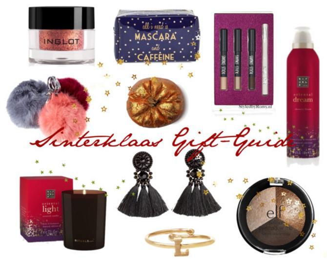 GIFT-GUIDE: 10 x Fashionable Sinterklaascadeautjes onder de €20