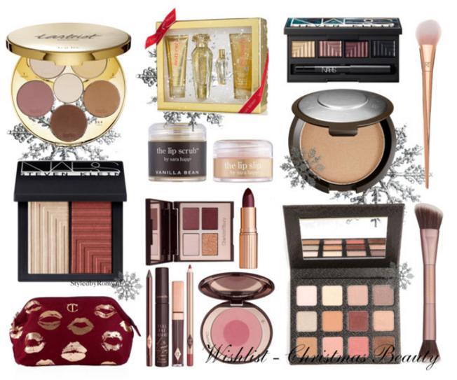 WISHLIST: Kerst beautyproducten & make-up