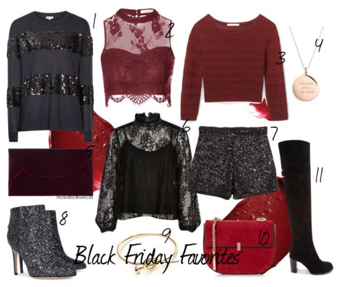 FAVORIETEN: Black Friday party shopping