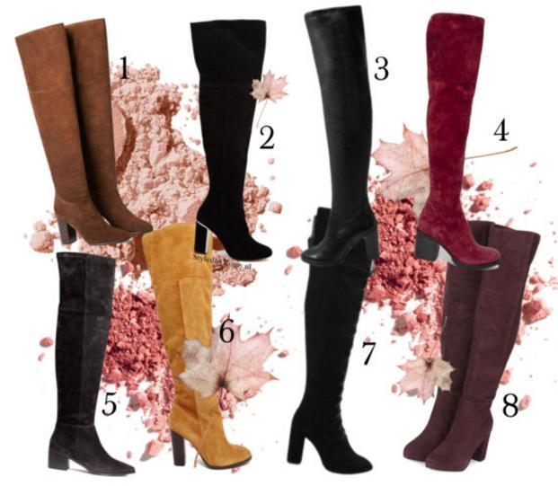FAVORIETEN: 8 Paar Musthave overknees voor in jouw Herfstgarderobe