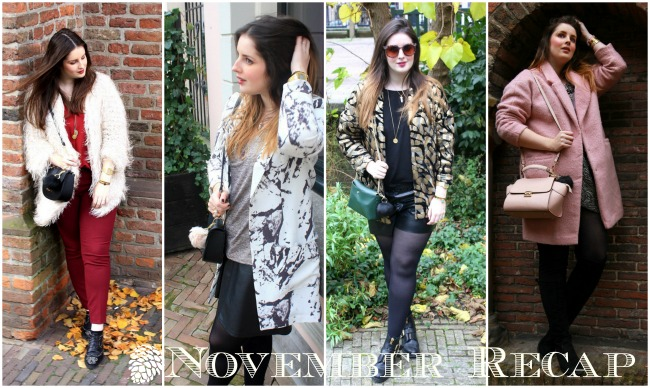 LOOK OF THE DAY: November Outfit recap