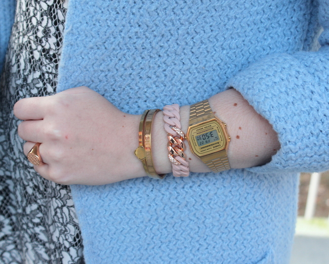 LOOK OF THE DAY: Frozen pastels