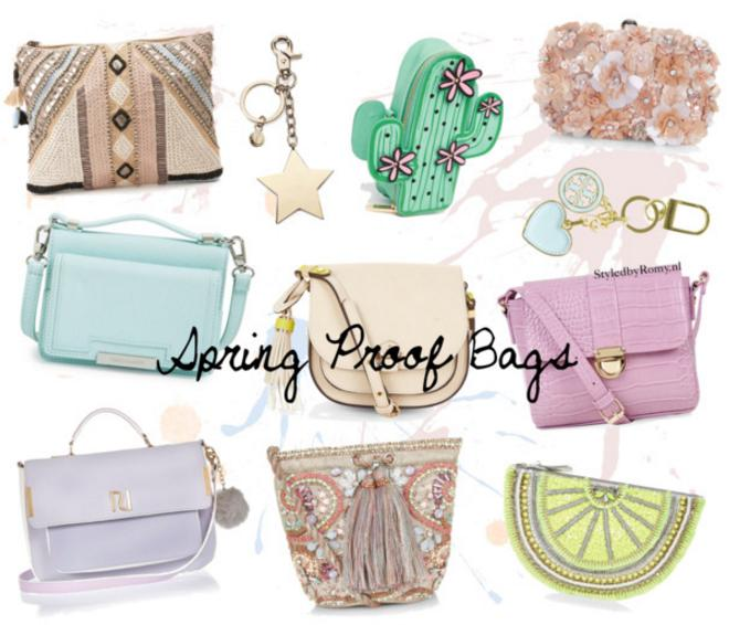 FAVORIETEN: Spring proof bags