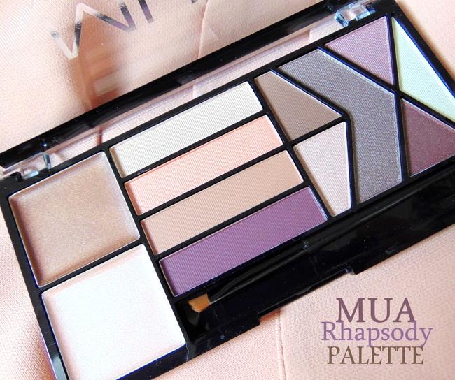 REVIEW: MUA Eye + Face 'Rhapsody' Palette