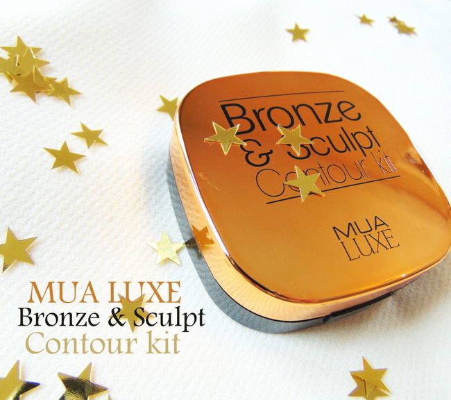 REVIEW: MUA Luxe 'Bronze & sculpt' Contour kit