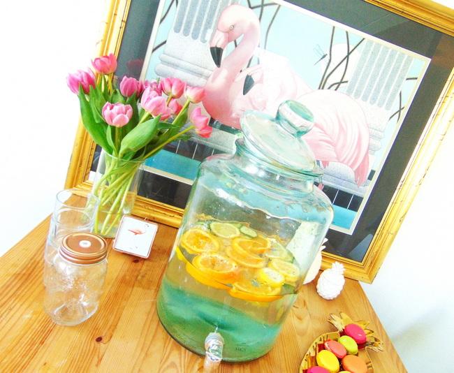 INTERIEUR: Fruitwater uit Kookpunt limonadetap