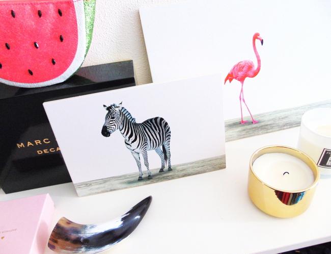 INTERIEUR WINACTIE: Win ArtyAnimals flamingo voor aan de wand! *GESLOTEN*