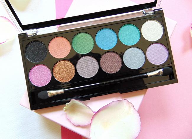 REVIEW: MUA 'Glitter Ball'-eyeshadow palette & Luxe 'Highlight Shimmer'-stick