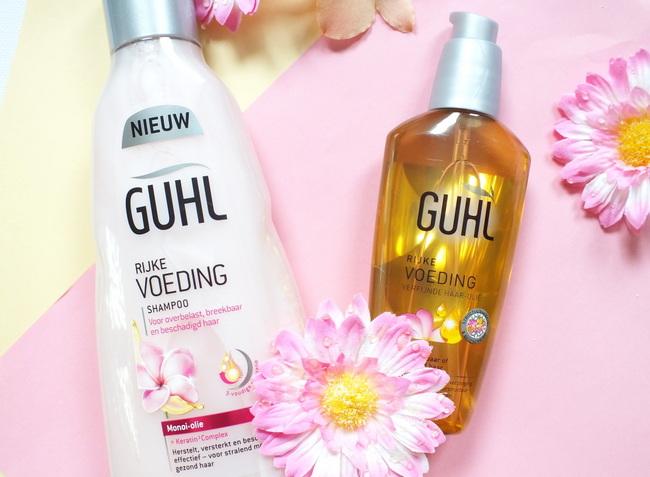 REVIEW: Guhl 'Rijke voeding' shampoo & verfijnde haar-olie
