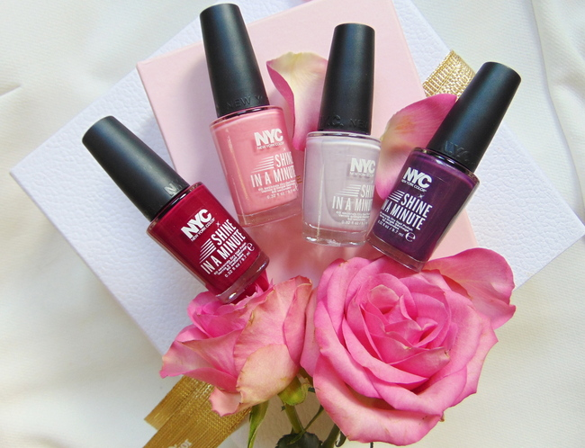 REVIEW: NYC 'Shine in a minute'-nagellak