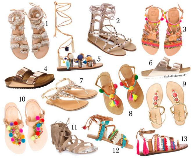 FAVORIETEN: Sandal shopping