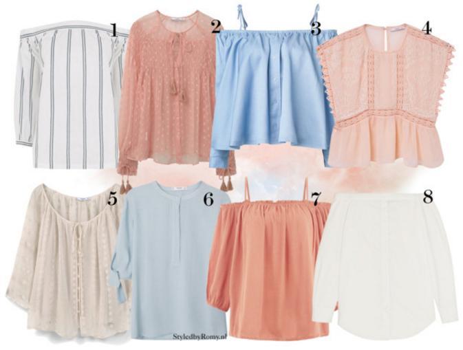FAVORIETEN: Boho blouses