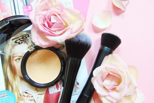 REVIEW: Etos Compact powder, Buffer brush & Powder brush