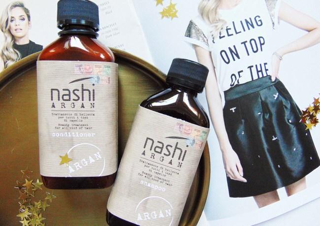 REVIEW: Nashi Argan Shampoo- & Conditioner