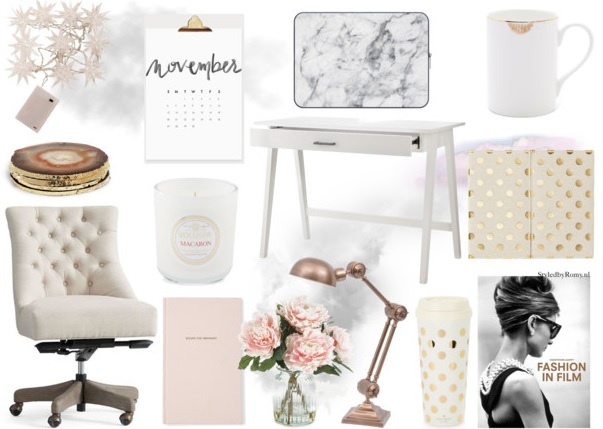 INTERIEUR: Zo creëer je een stijlvolle werkplek at home
