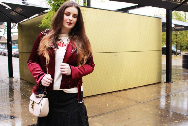 LOOK OF THE DAY: Red velvet