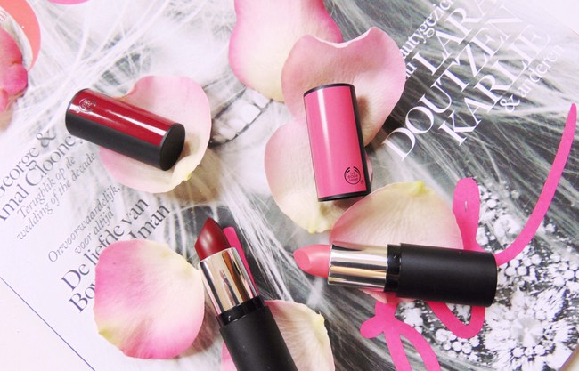 REVIEW: The Body Shop Matte Lipstick in #420 'Honolulu Pink Matte' & #429 'Osaka Plum Matte'