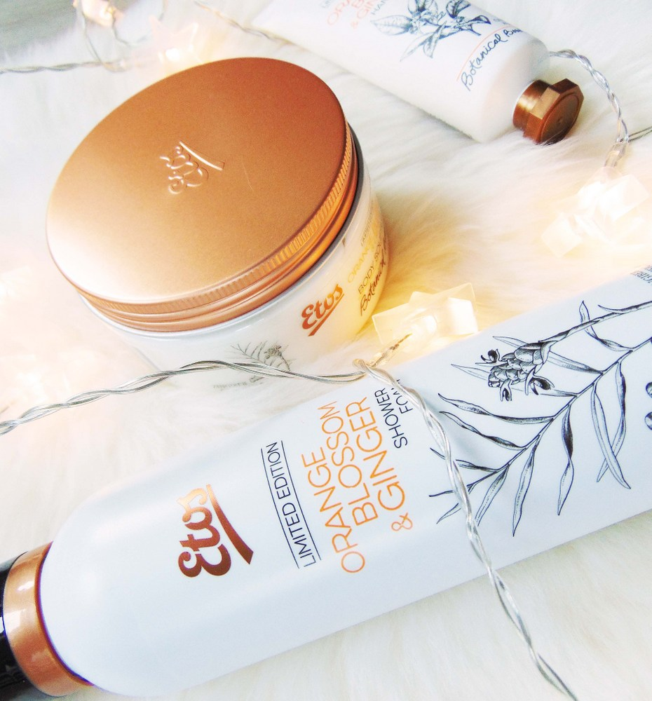 REVIEW: Etos limited edition 'Orange blossom & Ginger'-body producten