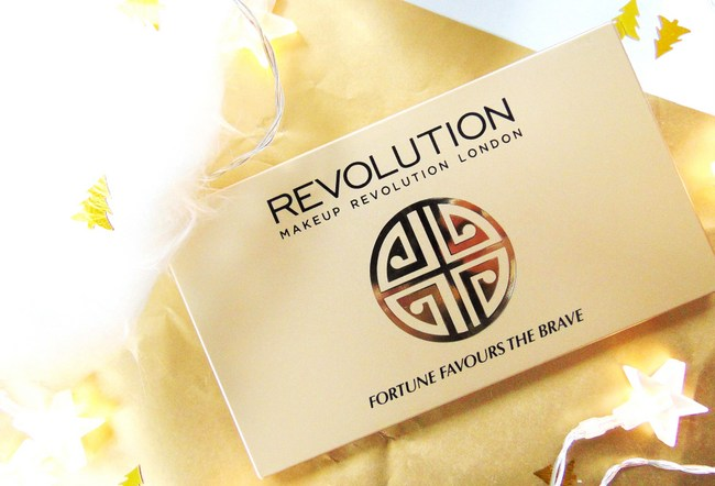 REVIEW: Makeup Revolution 'Fortune Favours The Brave'-palette