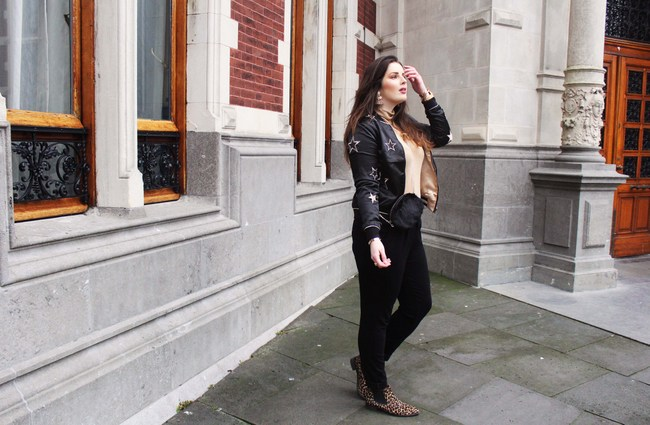 LOOK OF THE DAY: Rosewholesale Star bomber