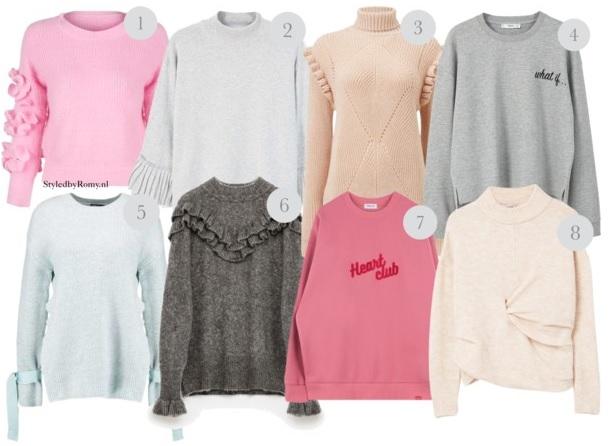 FAVORIETEN: Pastel jumpers