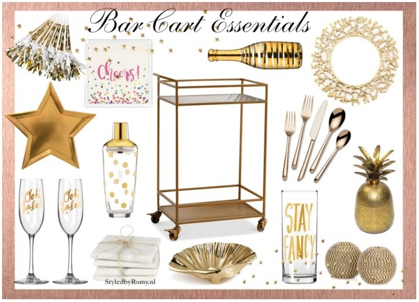 INTERIEUR: Bar cart inspiratie