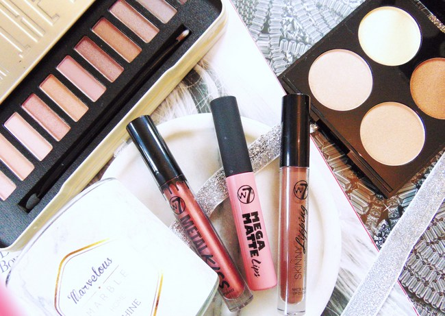 REVIEW: W7 glowy budget make-up